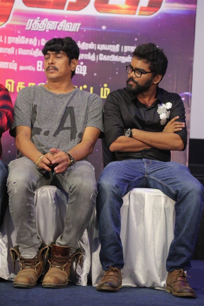 Rekka Movie Press Meet Stills