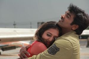 Lakshmi Menon, Vijay Sethupathi in Rekka Movie Stills