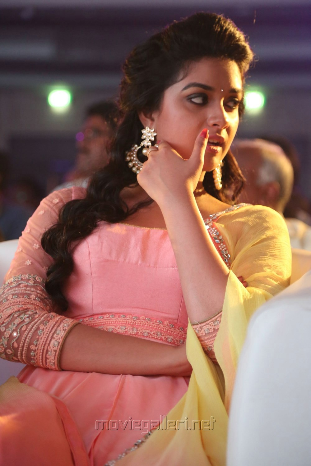 Actress Keerthy Suresh @ Remo Movie Title Track Launch Stills
