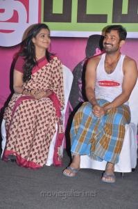 Ramya Nambeesan, Aravind Akash at Rendavathu Padam Movie Audio Launch Stills