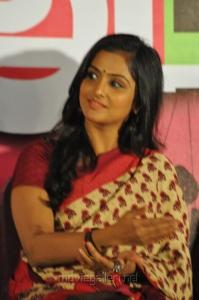 Actress Ramya Nambeesan at Rendavathu Padam Movie Audio Launch Stills