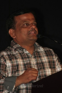 KV Anand at Rendavathu Padam Movie Audio Launch Photos