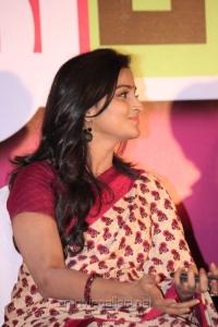 Actress Ramya Nambeesan at Rendavathu Padam Movie Audio Launch Photos