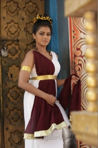 Tamil Actress Ramya Nambeesan in Rendavathu Padam Movie Stills