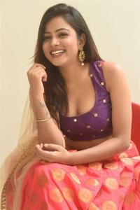 Actress Renusree Photos @ Adharam Movie Poster Launch