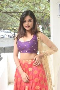 Actress Renusri Photos @ Adharam Movie Press Meet
