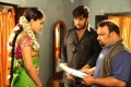 Chaitra, Ramki at Reporter Movie Working Stills