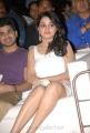 Actress Reshma Hot Legs Pictures in White Sleeveless Dress