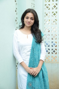 Telugu Actress Reshma Cute Stills at Love Cycle Success Meet