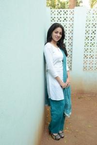 Actress Reshma Cute Stills at Love Cycle Movie Success Meet