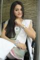 Actress Reshma Photos in Grayish Yellow Churidar with White Dupatta