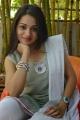 Actress Reshma in Grayish Yellow Churidar Photos @ Prathighatana Press Meet