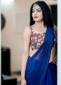 Actress Reshma Pasupuleti Saree Photoshoot Images