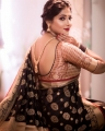 Actress Reshma Pasupuleti in Saree Photoshoot Stills