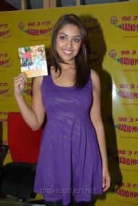 Richa Gangopadhyay releases Sarocharu Music at Radio Mirchi Studio, Hyderabad