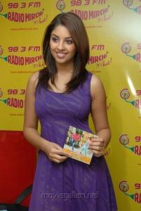 Actress Richa Gangopadhyay at Radio Mirchi Studio, Hyderabad Photos