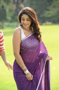 Actress Richa Gangopadhyay Hot Saree Photos in Sarocharu Movie