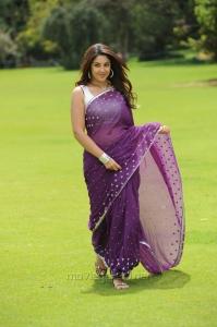 Actress Richa Gangopadhyay Saree Hot Photos in Sarocharu Movie
