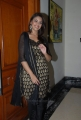 Actress Richa Gangopadhyay Pictures in Black Banarasi Salwar Kameez