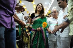 Richa Gangopadhyay inaugurates Vijayawada Central in Bezawada