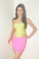 Richa Panai Hot Stills in Yellow Top & Light Pink Mini Skirt