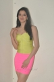 Richa Panai Hot Photo Shoot Stills in Light Pink Mini Skirt