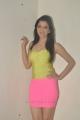 Richa Panai Hot Stills in Yellow Top & Light Pink Tight Skirt