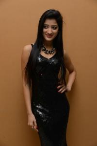 Actress Richa Panai Images in Black Dress