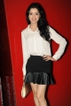 Telugu Actress Richa Panai Pics in White Shirt & Black Skirt Dress