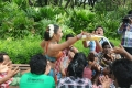 Actress Risha Hot Item Song Photos @ Sadhikkalam Thozha Shooting Spot