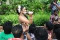 Sadhikkalam Thozha Risha Hot Item Song Shoot Photos