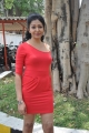 Rithiya Hot Photo Shoot Stills in Red Dress