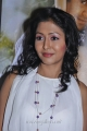 Tamil Actress Rithiya in White Dress Stills