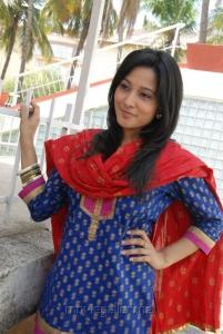 Actress Ritu Barmecha Cute Pics  in Punjabi Churidar Dress