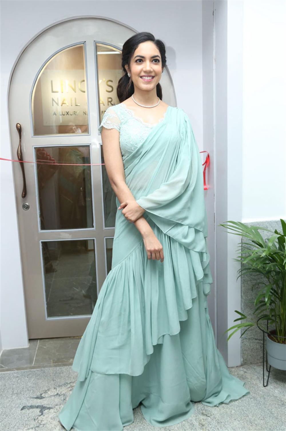 Actress Ritu Varma Inaugurates Lincy's Nail Bar Salon at Jubilee Hills Photos