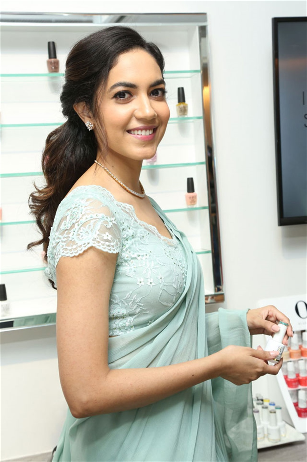 Actress Ritu Varma  Photos @ Lincy's Nail Bar Salon Inauguration