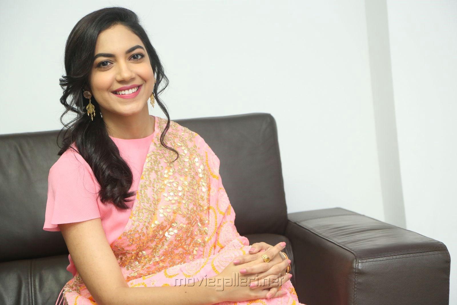 Actress Ritu Varma Photos @ Keshava Movie Interview