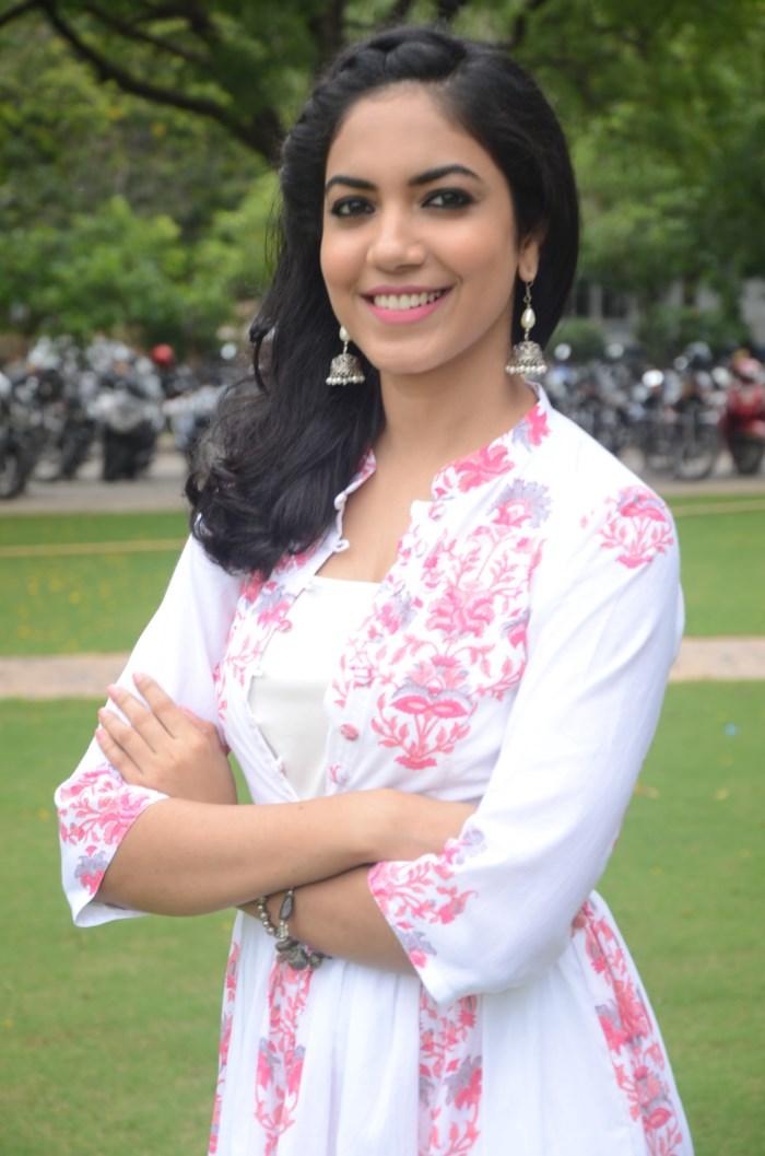 Actress Ritu Varma Photos @ Pellichupulu Press Meet