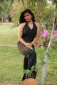Tamil Actress Riyamikka Photos in Black Dress