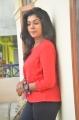 Tamil Actress Riythvika in Red Dress Photos