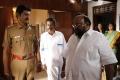 Subbu Panchu, Santhana Bharathi in RK Nagar Movie Stills