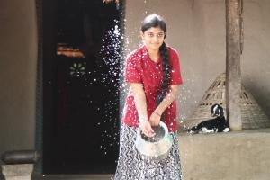 Actress Ammu Abirami in Robin Hood Movie Stills