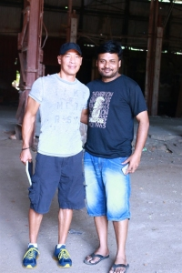 Hollywood Stunt Master Roger Yuan @ Prabhu Solomon Dhanush Movie