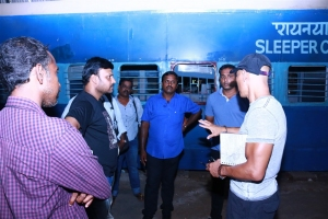 Stunt Master Roger Yuan @ Prabhu Solomon Dhanush Shooting Spot