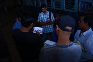 Hollywood Stunt Master In Prabhu Solomon Dhanush Film