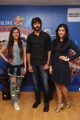 Angela, Ishaan, Mannara Chopra @ Rogue Movie Team visit Radio City FM Photos