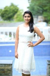 Actress Kruthika Jayakumar @ Rojulu Marayi Movie Team Photos