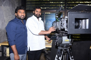 Director Anil Paduri @ Romantic Movie Opening Stills