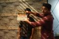 Hero Kalyan Ram clapped the sound board for Romantic Movie Opening Stills