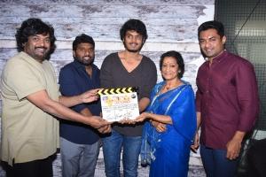 Puri Jagannadh, Anil Paduri, Akash Puri, Nandamuri Kalyan Ram, Rama Prabha @ Romantic Movie Opening Stills